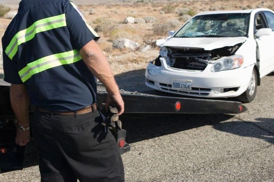 Towing Vehicle After An Accident